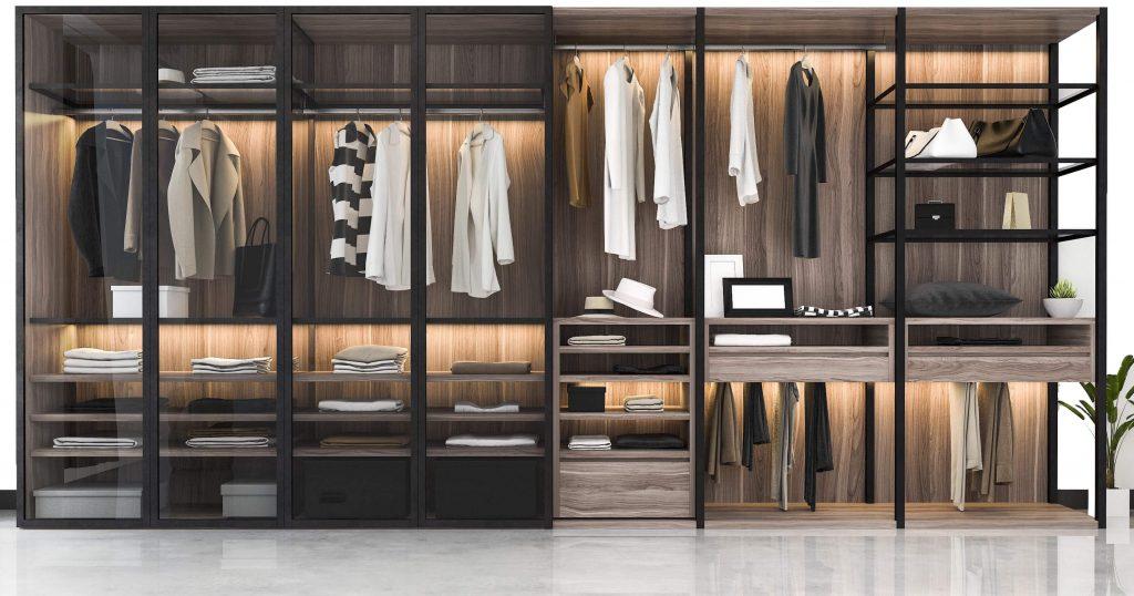 Custom made wardrobe